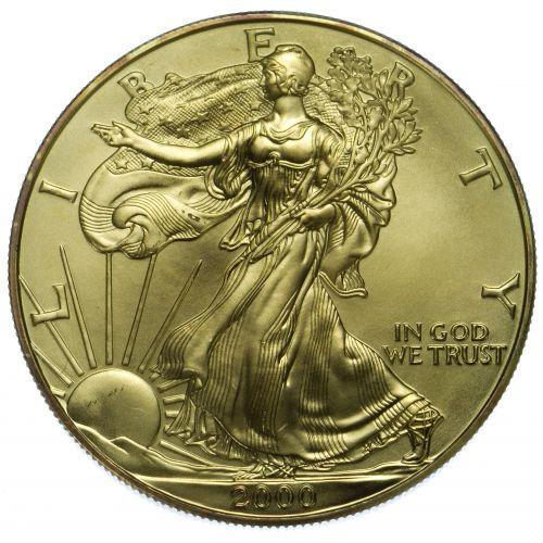 2000 $1 Silver Eagle