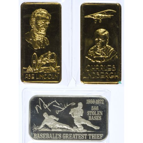 1ozt. Silver Bars (3pcs.)