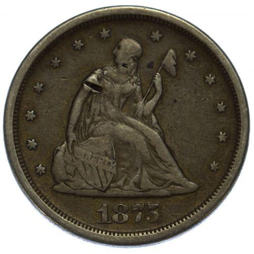 1875-S 20c