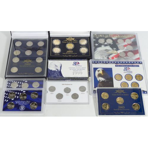 Collectible State Quarter Sets