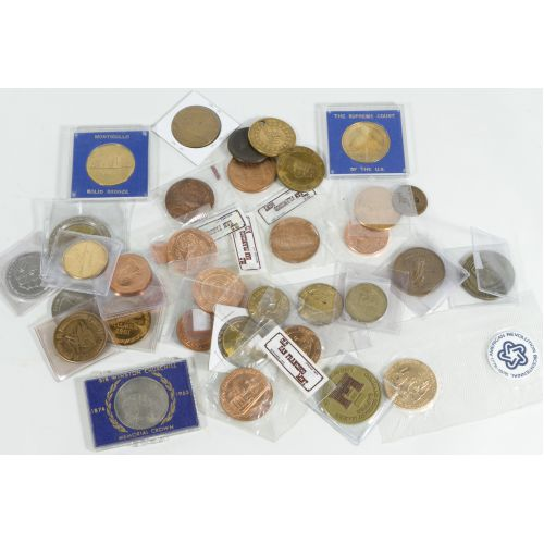 Assorted Medals & Tokens