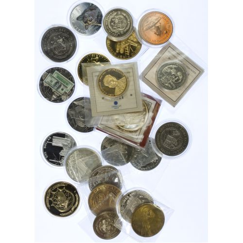 Assorted Commemorative Coins & Medals