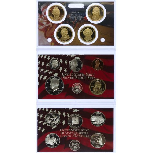 2008 US Silver Proof Set