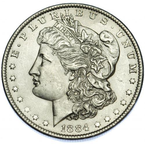 1884-O $1 MS-61