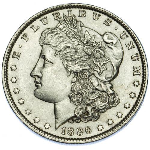 1886 $1 MS-63