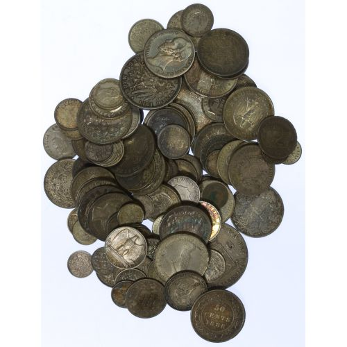 World: Assorted Silver Coins