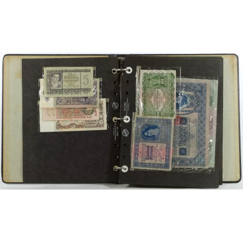 World: Assorted Currency and Banknotes