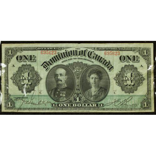 Canada: 1911 $1