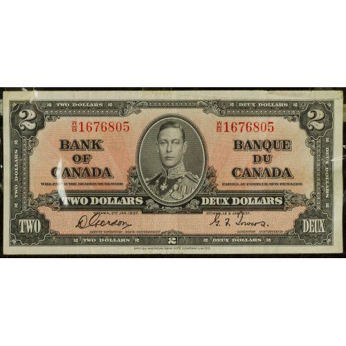 Canada : 1937 $2