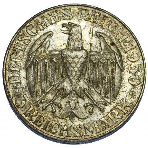 Germany: 1930 3 Mark VF