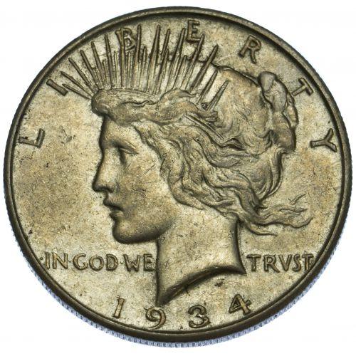 1934-S $1 VF