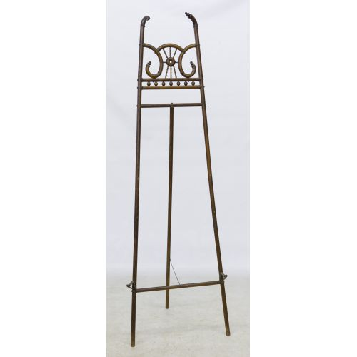 Victorian Carved Wood Easel