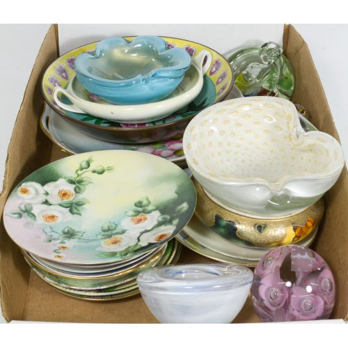Collection of Porcelain & Glass Items