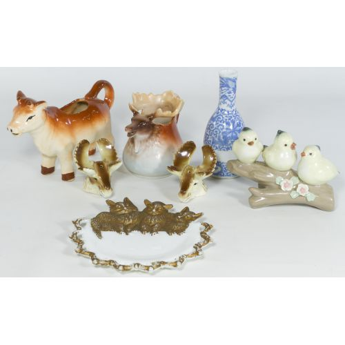 Collection of Decorative Porcelain Items (7 Pieces)