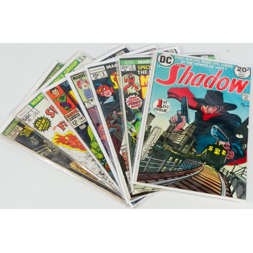 (7) Early Marvel Comic Books