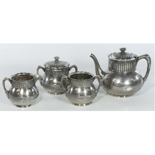 Pairpoint Silverplated Tea Service