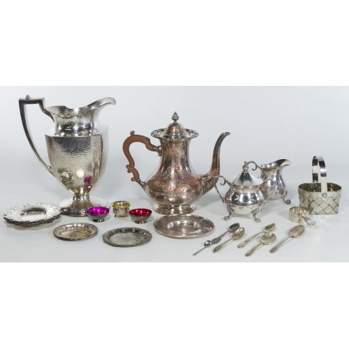 Silverplate Tableware Assortment
