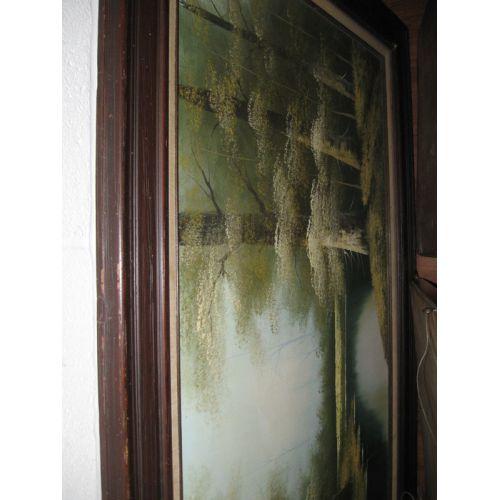 H. Hudson (20th C.) Oil on Canvas