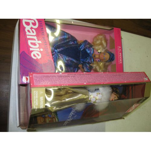 Collection of (3) Barbie Dolls in boxes