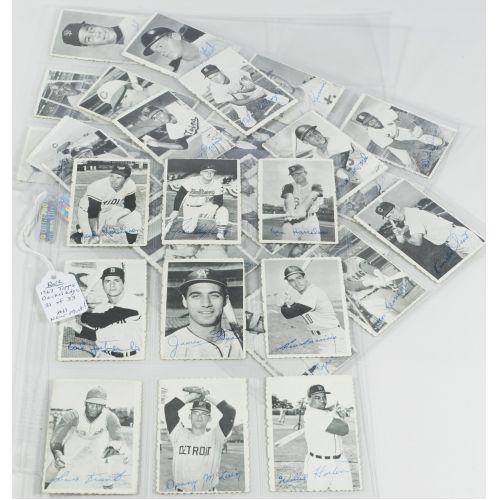 Lot 289 1969 Topps Deckle Edge Baseball Trading Cards Leonard