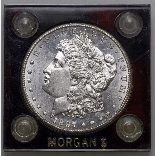 1897-S $1 AU-55