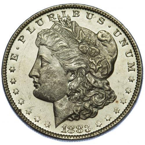 1883 $1 MS-63 DMPL