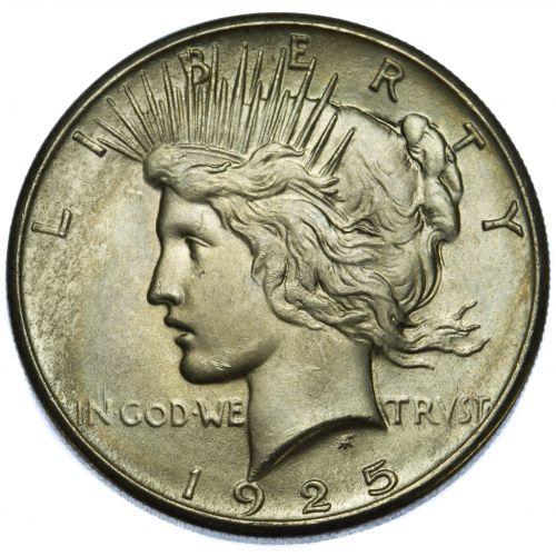 1925 $1 AU-50