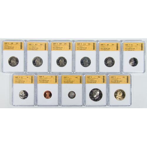 2005-S Proof Set SGS