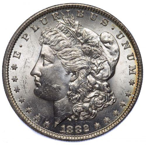 1882-O $1 UNC