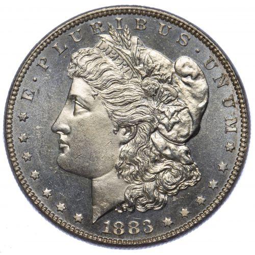 1883 $1 DMPL BU