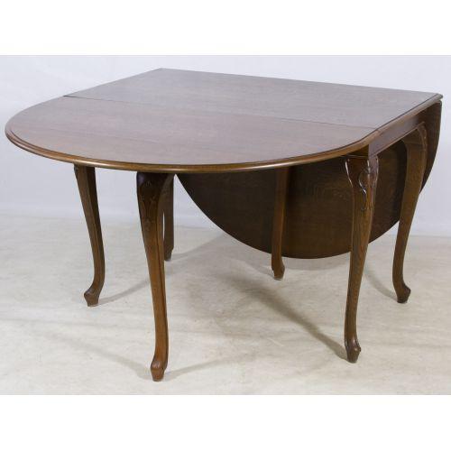French Oak Gate Leg Table