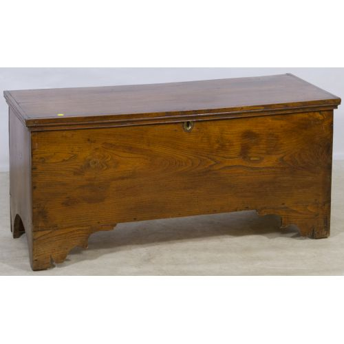 English Oak and Pine Blanket Chest