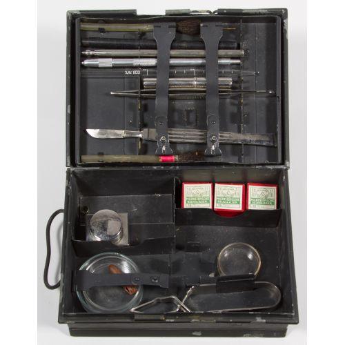 World War II Era German Field Testing Kit