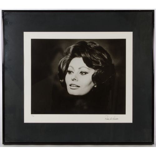 "Roddy McDowall (British, b.1928) ""Sophia Loren"" Photograph"