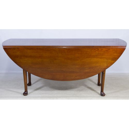 Cherry Stained Drop Leaf Table