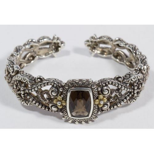 Bixby Sterling Silver Hinged Cuff Bracelet