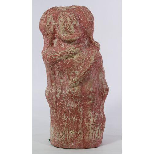 Z. W. Werner (20th Century) Ceramic Statue