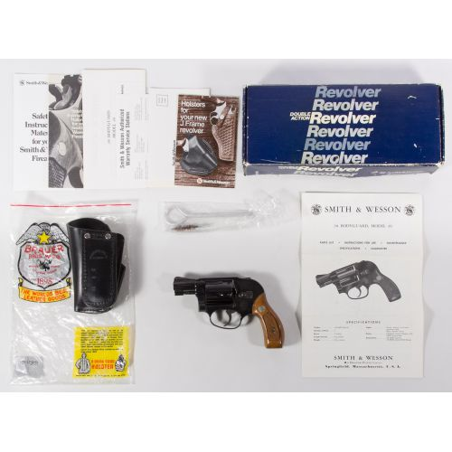 Smith & Wesson Model 49 .38 cal Double Action Revolver (Serial #J904544)
