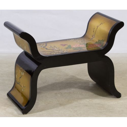 Lacquer Asian Bench