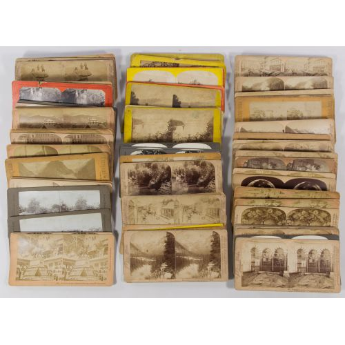Stereoview Card Assortment