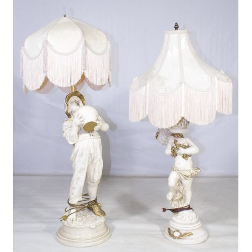 Figural Table Lamps
