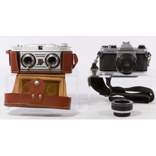 Ashi Pentax K1000 50mm Camera Assortment