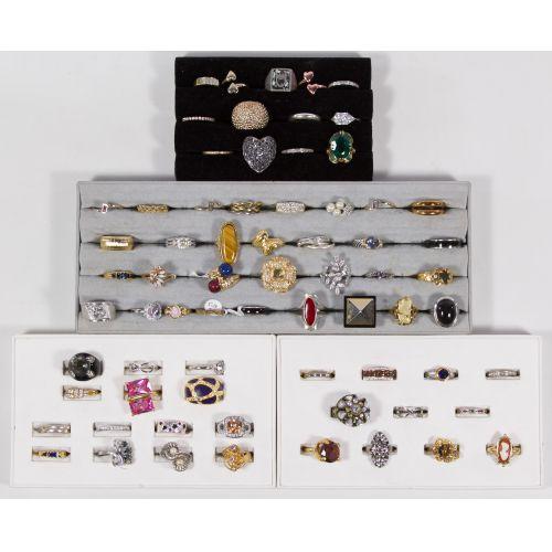 Costume Jewelry Ring Assortment