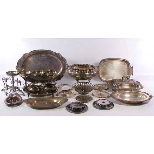 Asian Silverplate Hollowware