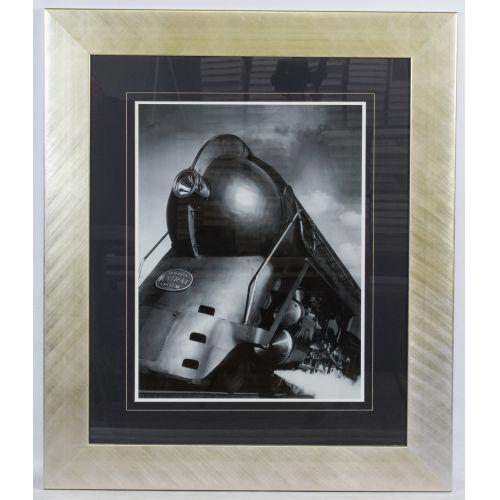 "Unknown Artist (20th Century) ""New York Central System"" Print"