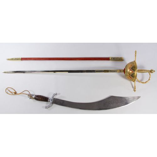 Toledo Sword and Sheath