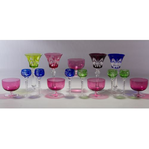 Cut-to-Clear Crystal Water Goblets