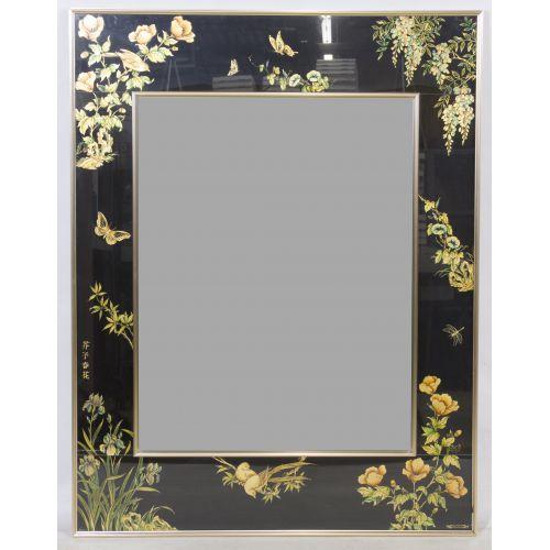 Framed Asian Mirror