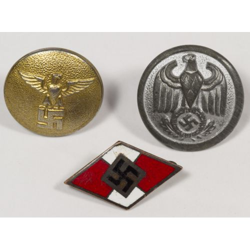 World War II German Hitler Youth Pin