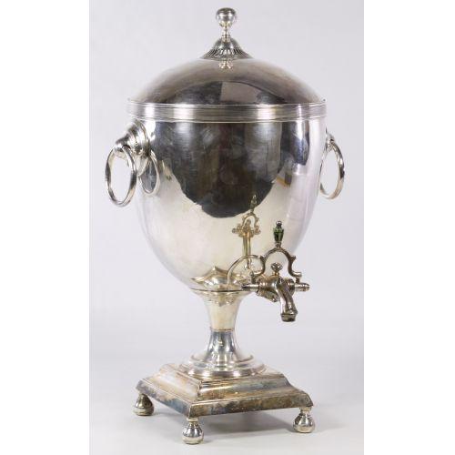 Silverplate Coffee Urn